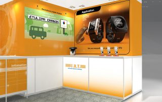Electronica Munchen, URT at Electronica Munchen, cooperations with united Radiant Technology